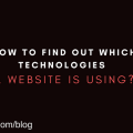 How to find out which technologies a website is using?