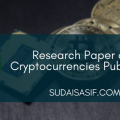 Research Paper on Cryptocurrencies Published